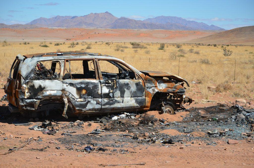 dream car crashes