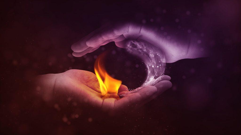 dream burning someone