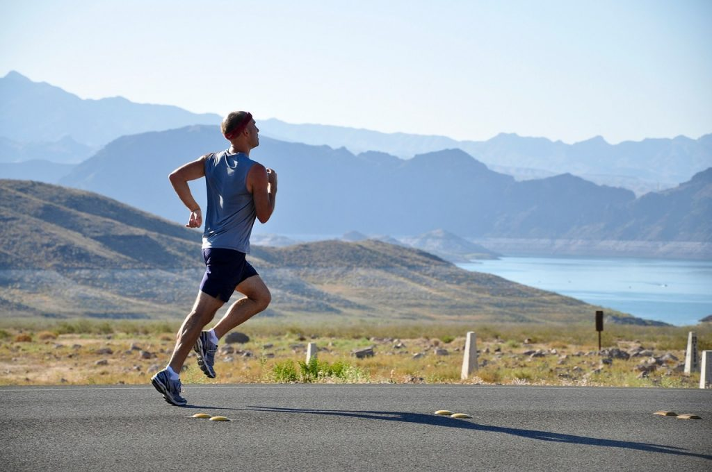 dream about running for exercise