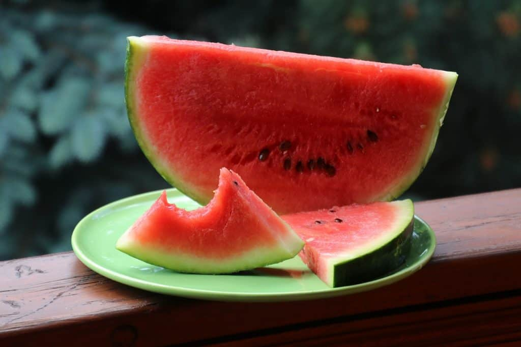 dream eating watermelon