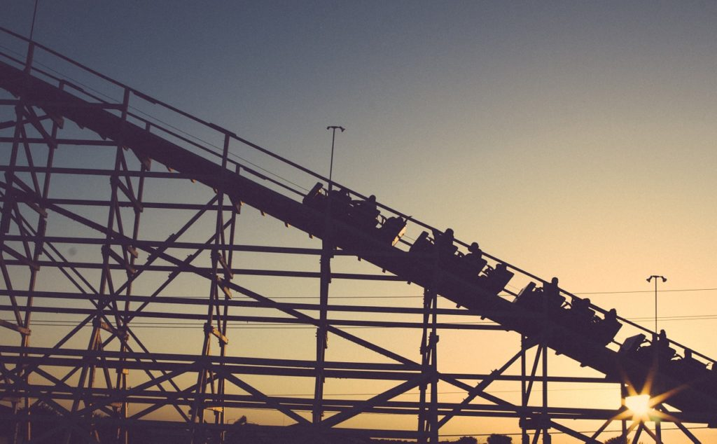 dream meaning roller coaster