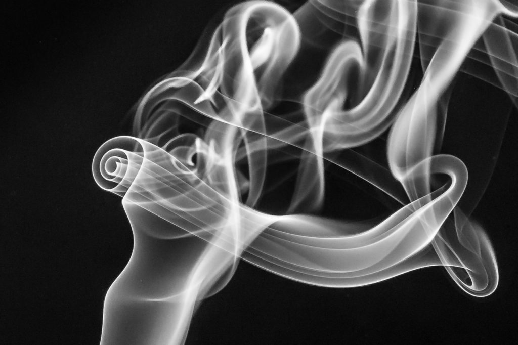 Dream about white smoke